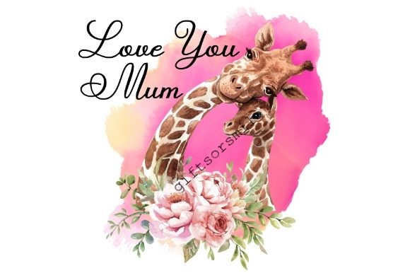 Download Free Love You Mum Mothers Day Graphic By Aarcee0027 Creative Fabrica for Cricut Explore, Silhouette and other cutting machines.