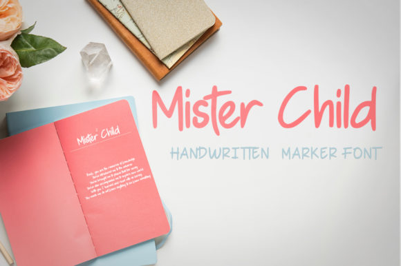 Print on Demand: Mister Child Script & Handwritten Font By Green Adventure Studio