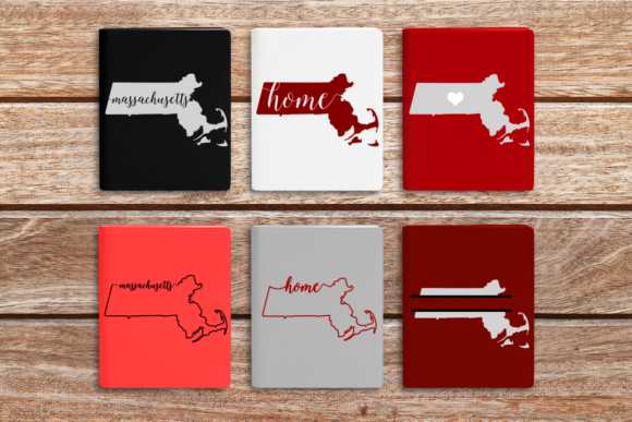 State of Massachusetts Graphic Crafts By DesignedByGeeks