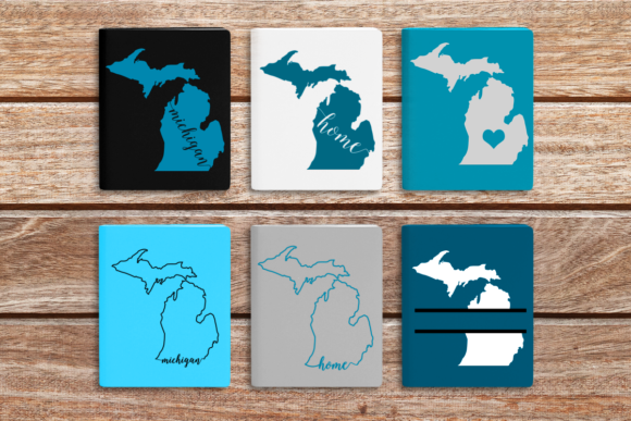 State of Michigan Graphic Crafts By DesignedByGeeks