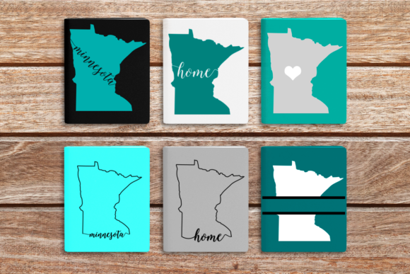 State of Minnesota Graphic Crafts By DesignedByGeeks