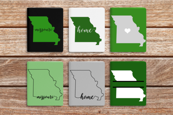 State of Missouri Graphic Crafts By DesignedByGeeks - Image 1