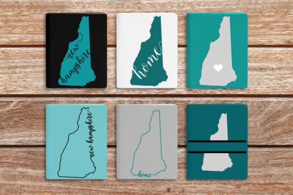 Download Free State Of New Hampshire Graphic By Designedbygeeks Creative Fabrica for Cricut Explore, Silhouette and other cutting machines.