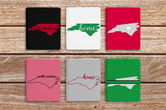 State of North Carolina Graphic Crafts By DesignedByGeeks