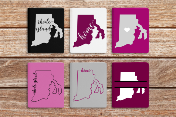 State of Rhode Island Graphic Crafts By DesignedByGeeks