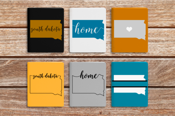 Download Free State Of South Dakota Graphic By Designedbygeeks Creative Fabrica for Cricut Explore, Silhouette and other cutting machines.
