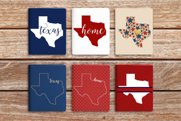 State of Texas Graphic Crafts By DesignedByGeeks