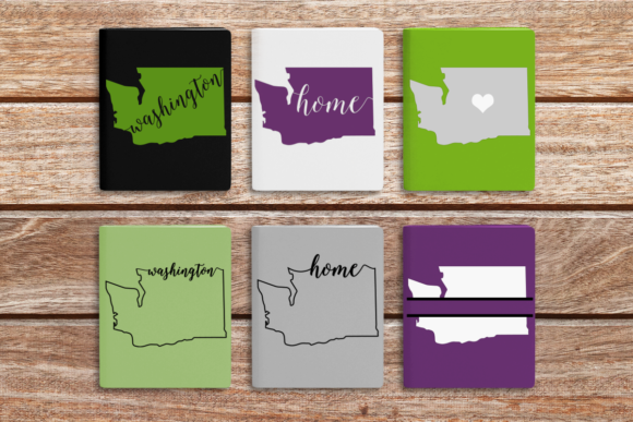 State of Washington Graphic Crafts By DesignedByGeeks