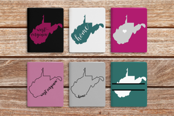 State of West Virginia Graphic Crafts By DesignedByGeeks