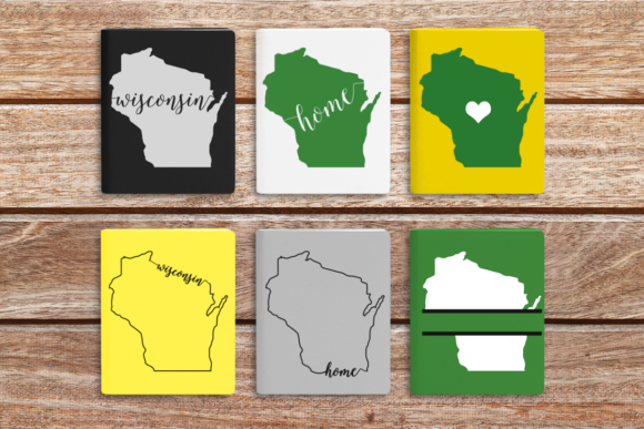 Download Free State Of Wisconsin Grafik Von Designedbygeeks Creative Fabrica for Cricut Explore, Silhouette and other cutting machines.
