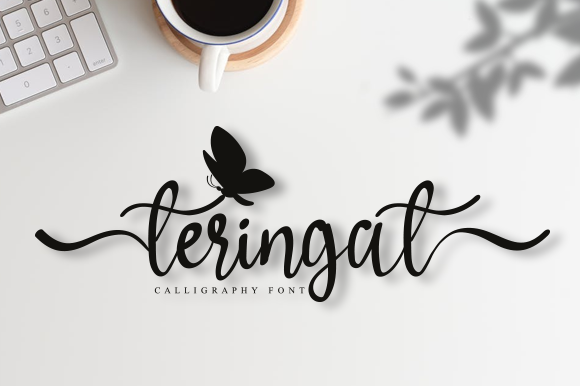 Print on Demand: Teringat Script & Handwritten Font By andikastudio