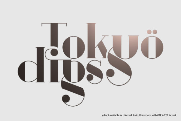 Print on Demand: Tokyo Digs Serif Font By I Do Not Sleep