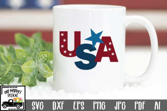 Print on Demand: USA Graphic Crafts By oldmarketdesigns