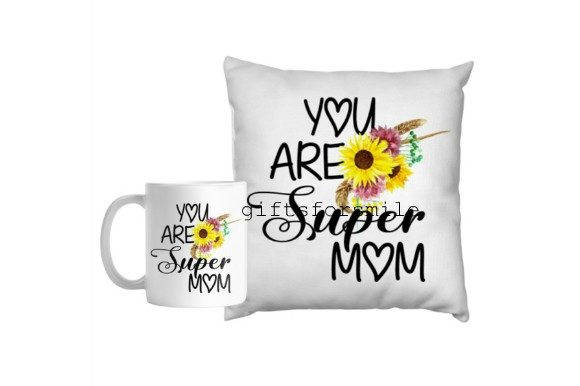 You Are Super Mom, Mothers Day Special Graphic Illustrations By aarcee0027