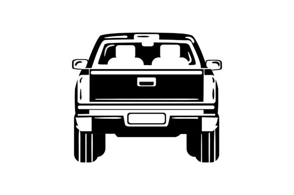 Download Free Back Of Pickup Truck Svg Cut File By Creative Fabrica Crafts for Cricut Explore, Silhouette and other cutting machines.