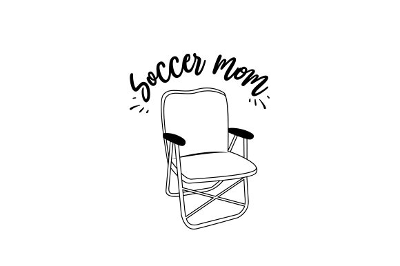 Soccer Mom Sports Craft Cut File By Creative Fabrica Crafts - Image 2