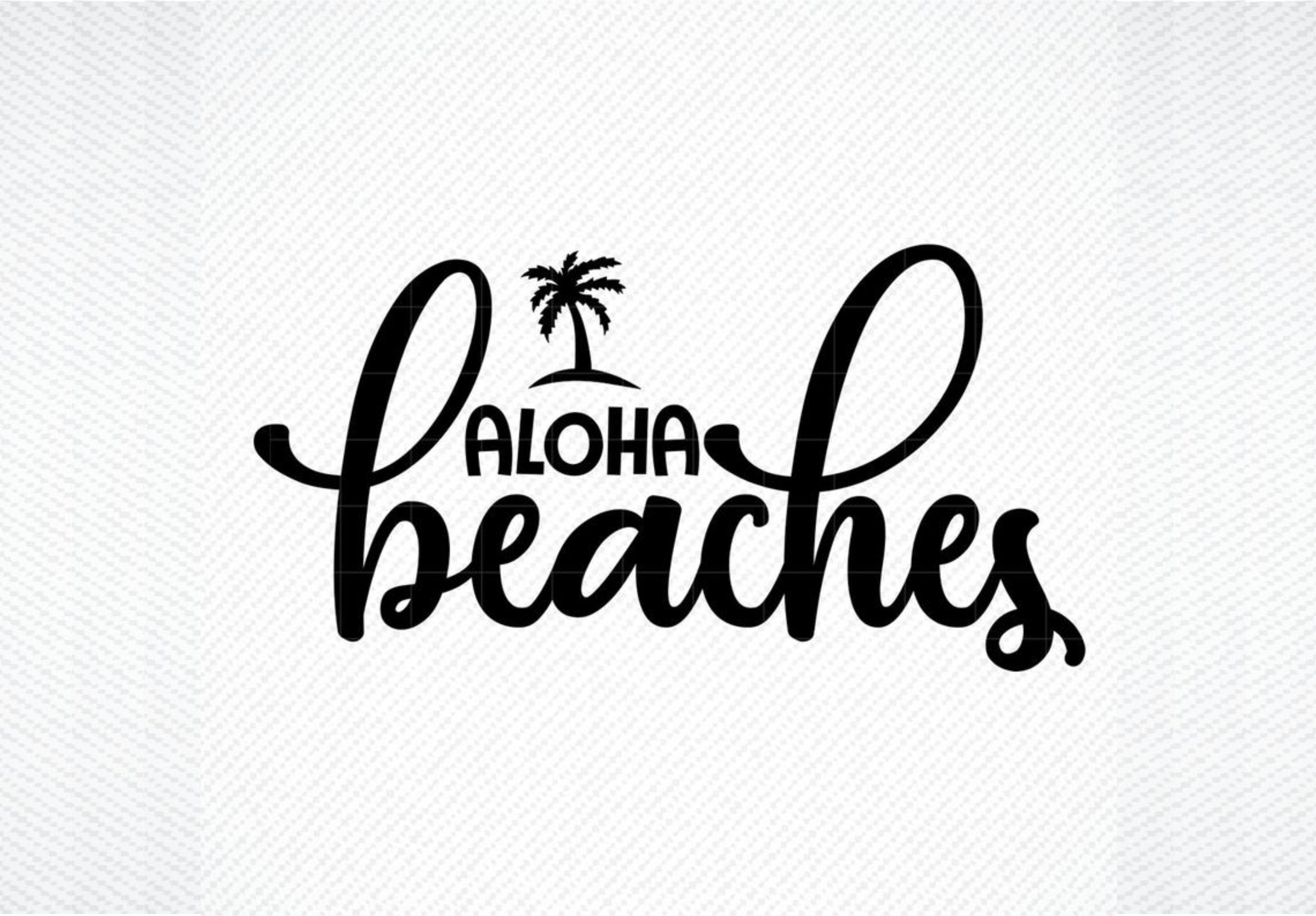 Download Free Aloha Beaches Graphic By Svg Den Creative Fabrica for Cricut Explore, Silhouette and other cutting machines.