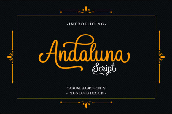 Print on Demand: Andaluna Script & Handwritten Font By scoothtype