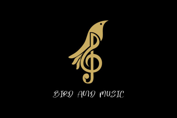 Download Free Bird Music Sound Melody Icon Graphic By Alexanderbautista137 for Cricut Explore, Silhouette and other cutting machines.