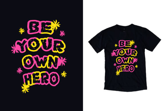 Download Free Black T Shirt Trust The Timing Quotes Graphic By Yazriltri for Cricut Explore, Silhouette and other cutting machines.