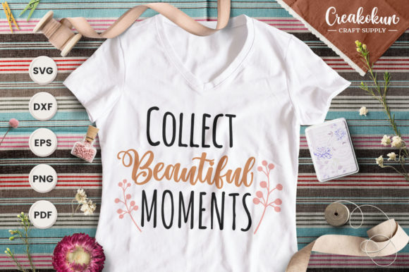 Print on Demand: Collect Beautiful Moment Graphic Crafts By creakokunstudio