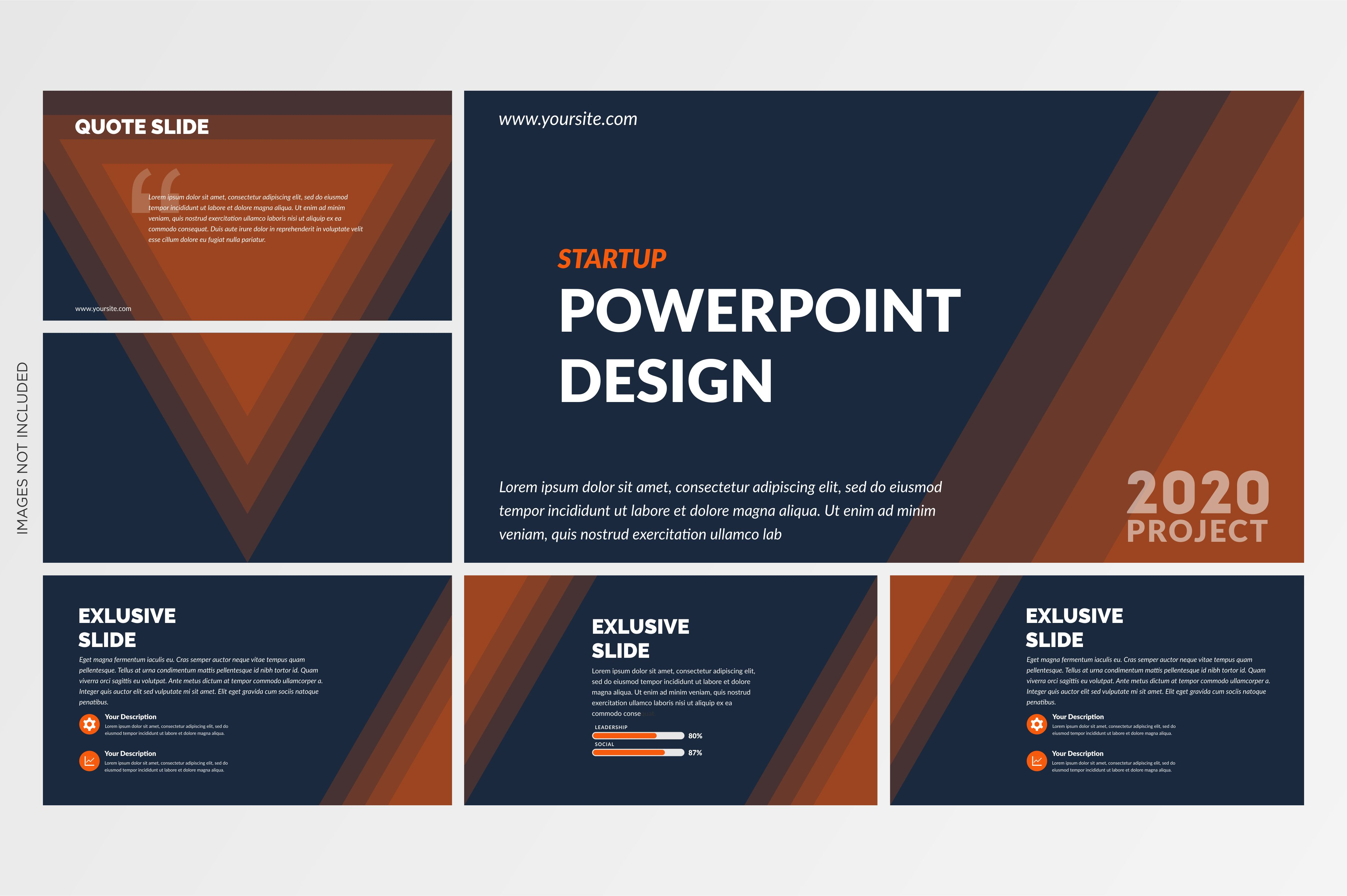 Download Free Creative Powerpoint Template Vector Graphic By Lutfyhasan for Cricut Explore, Silhouette and other cutting machines.