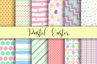 Print on Demand: Easter Background Graphic Backgrounds By PinkPearly