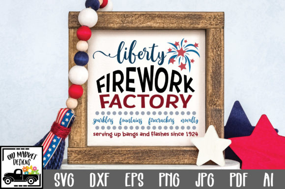 Print on Demand: Firework Factory Graphic Crafts By oldmarketdesigns