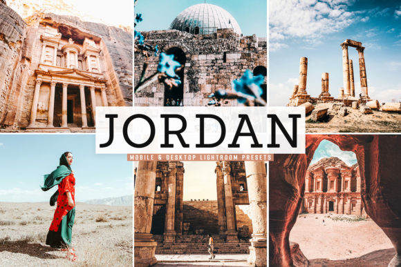 Print on Demand: Jordan Lightroom Preset Pack Graphic Actions & Presets By Creative Tacos