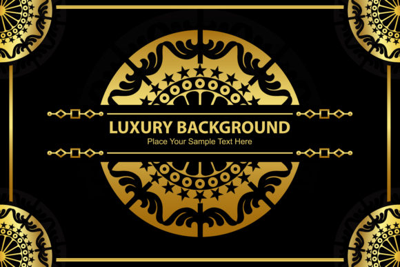 Luxury Background Ornament Graphic By Leisureprojects Creative