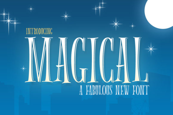 Print on Demand: Magical Serif Font By Salt & Pepper Designs