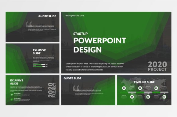 Powerpoint Template for Business Vector Graphic Presentation Templates By lutfyhasan