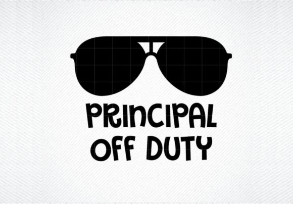 Download Free Principal Teacher Off Duty Graphic By Svg Den Creative Fabrica for Cricut Explore, Silhouette and other cutting machines.
