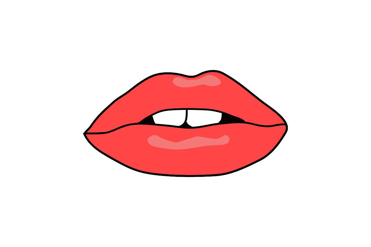Download Free Sensual Red Lips Female Graphic By Artpray Creative Fabrica SVG Cut Files