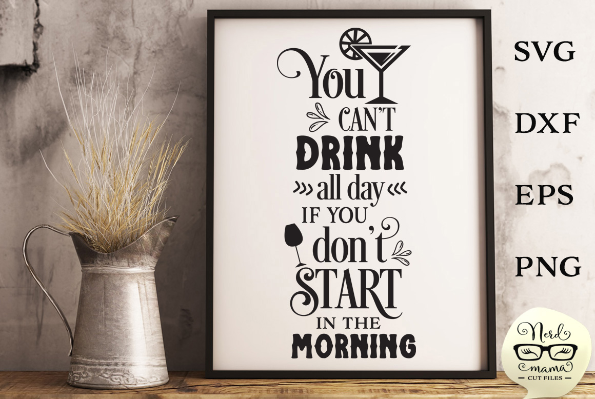 Download Free Start In The Morning Cut File Graphic By Nerd Mama Cut Files for Cricut Explore, Silhouette and other cutting machines.