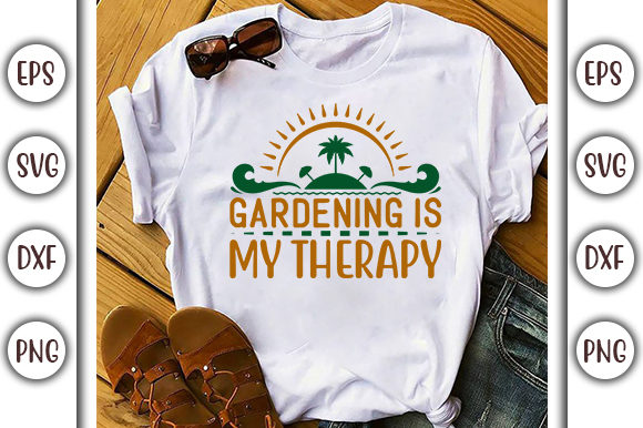 Download Free Summer Design Gardening Is My Graphic By Graphicsbooth SVG Cut Files