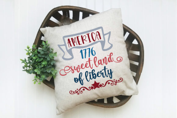 Print on Demand: Sweet Land of Liberty Graphic Crafts By oldmarketdesigns - Image 3