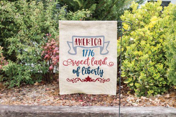 Print on Demand: Sweet Land of Liberty Graphic Crafts By oldmarketdesigns - Image 4