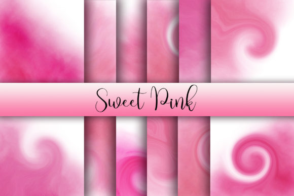 Sweet Pink Background Graphic Backgrounds By PinkPearly
