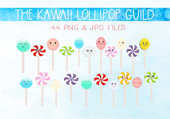 Download Free The Kawaii Lollipop Guild Graphic By Capeairforce Creative Fabrica for Cricut Explore, Silhouette and other cutting machines.
