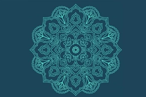 Download Free 100 Mandalas Livre De Coloriage Graphic By Papeterie Bleu for Cricut Explore, Silhouette and other cutting machines.