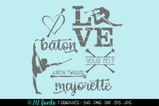 Download Free Baton Twirler Majorette Clip Art Graphic Graphic By 212 Fonts for Cricut Explore, Silhouette and other cutting machines.