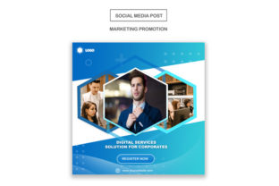 Blue Business Instagram Template Graphic Graphic Templates By Vutura