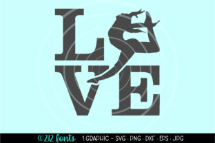 Print on Demand: Dance Leap Love Jump Graphic Graphic Illustrations By 212 Fonts