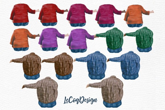 Grandparents Clipart Older People Graphic Illustrations By LeCoqDesign - Image 2