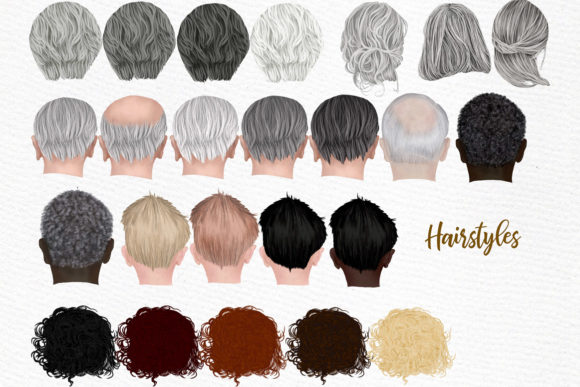 Grandparents Clipart Older People Graphic Illustrations By LeCoqDesign - Image 4