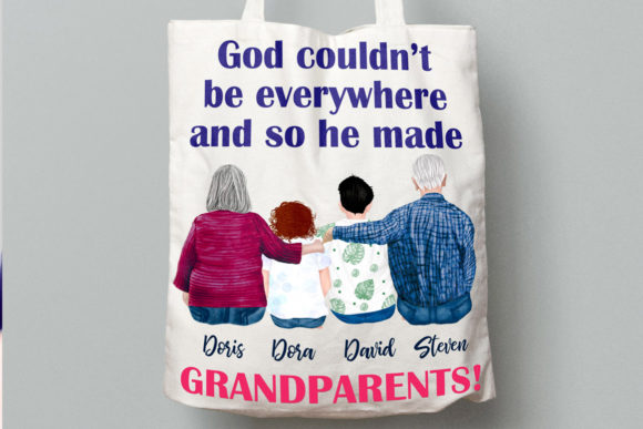 Grandparents Clipart Older People Graphic Illustrations By LeCoqDesign - Image 9