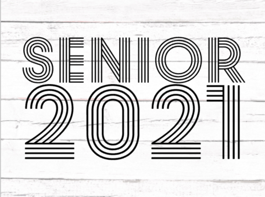 Download Free Senior 2021 Graphic By Thesmallhouseshop Creative Fabrica for Cricut Explore, Silhouette and other cutting machines.
