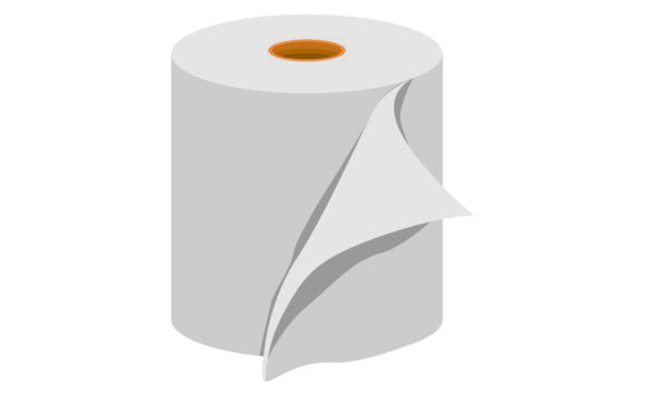Download Free Toilet Paper Graphic Graphic By Arief Sapta Adjie Creative Fabrica for Cricut Explore, Silhouette and other cutting machines.