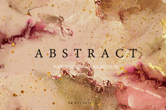 Abstract Watercolor Collection Graphic